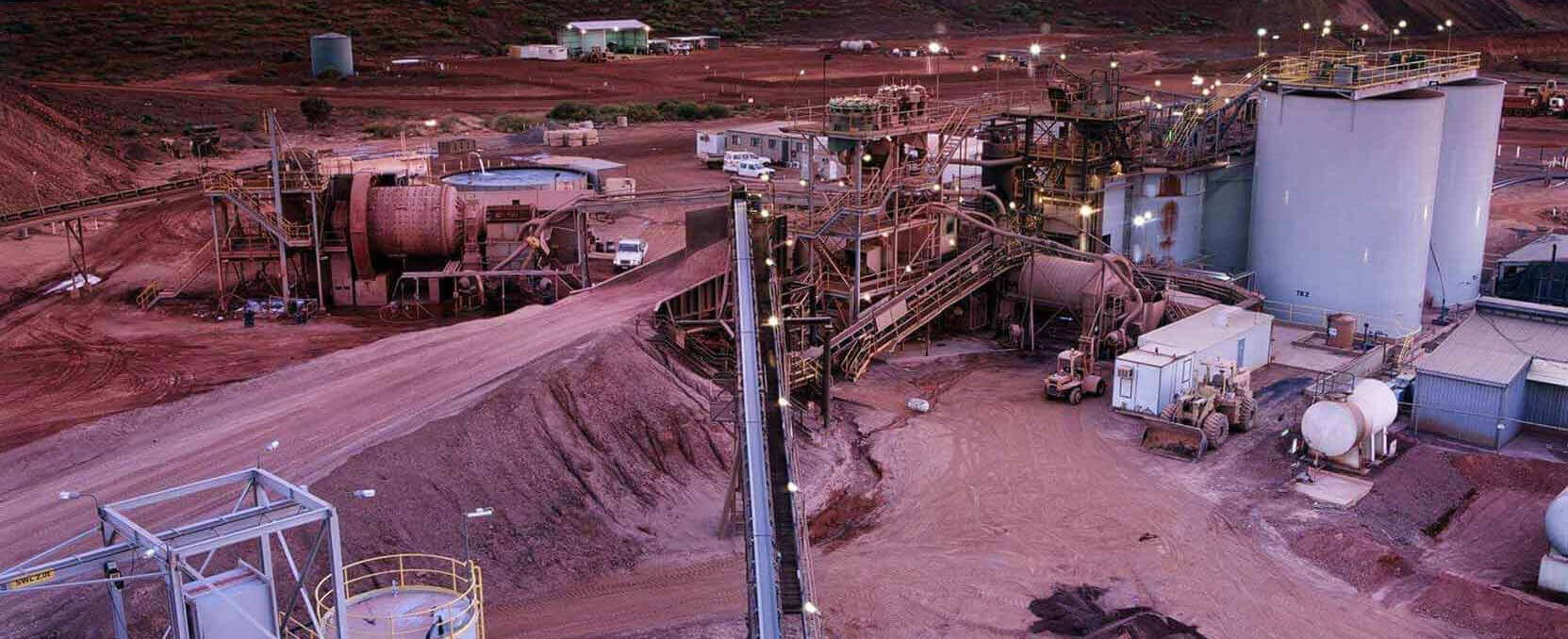 Supplying equipment to the mining, metallurgical and mineral industry